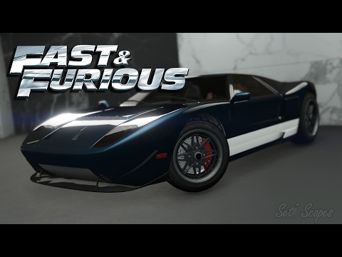 Fast And Furious  Ford Gt Car Build Gta