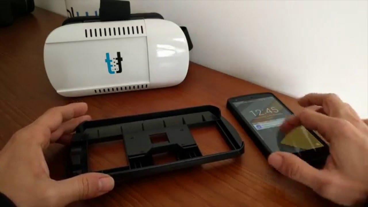 Como usar os óculos de Realidade Virtual da Smart Talk - YouTube af12e4e290