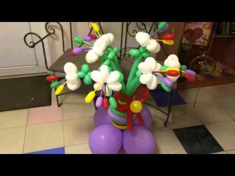 Композиции из воздушных шаров Мои работы и работы коллег))) Видео от Mr Радость