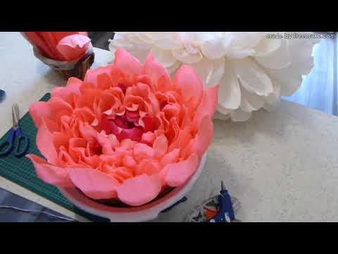 видео: Цветок-гнездо для фотосессии малышей Часть 1