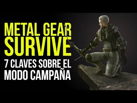 METAL GEAR SURVIVE, 7 CLAVES sobre el modo campaña