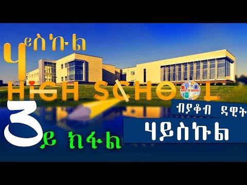 HIGH SCHOOL   ሃይስኩል (3ይ ክፋል) - New Eritrean Series Story 2018 by Yacob Dawit