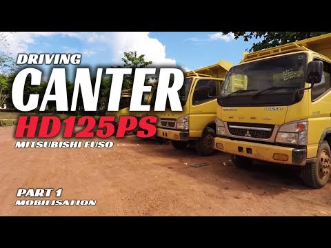 Driving Mitsubishi Canter Hd 125 Ps [mobilisation] Offroad Edition Part 1