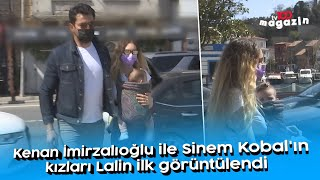 Kenan İmirzalıoğlu ile Sinem Kobal'ın kızları Lalin ilk kez görüntülendi