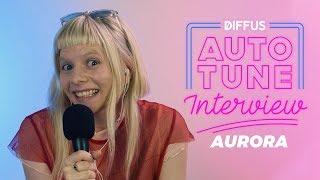 Aurora im Auto-Tune Interview   DIFFUS
