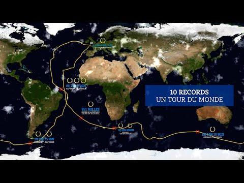 Un tour du monde, 10 records