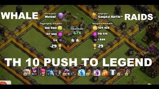 Clash of Clans :TH 10 ROAD TO 5500 :New Baby Dragon With Mass Dragons || Episode 1