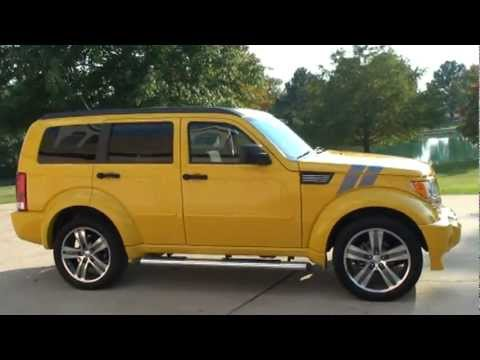 2011 dodge nitro detonator yellow navigation low miles for sale see www sunsetmilan com youtube. Black Bedroom Furniture Sets. Home Design Ideas
