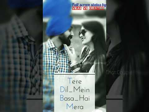 Zinda Hai Ye Dil Mera Whatsapp Status | Full Screen Status | By Vikas Vs Creation (_L_o_v_e_) 😍😘😍
