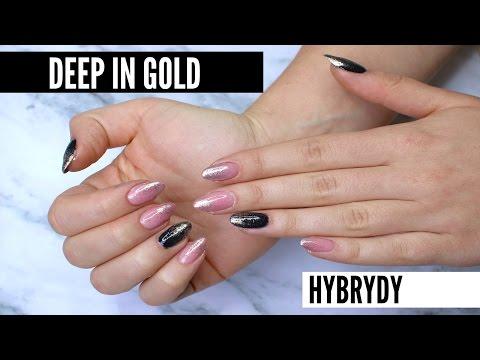 Diy Hybrydy Deep In Gold Brokatowe Ombre Lamakeupebella