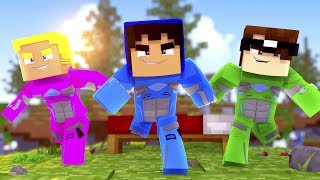 Minecraft: OS POWER RANGERS NA GUERRA!