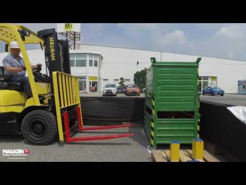 Slovak Forklift Operator challange 2017 MSV NITRA round