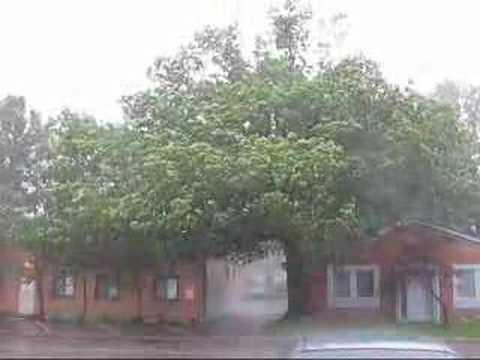 Electrical storm / rain storm hits Columbus Ohio