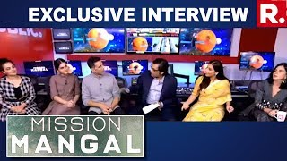 Team 'Mission Mangal' Speaks To Arnab Goswami; Akshay Kumar, Vidya Balan, Taapsee Pannu On Republic