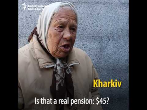 'Just Waiting Until It All Ends': Ukrainian Pensioners Struggle to Survive