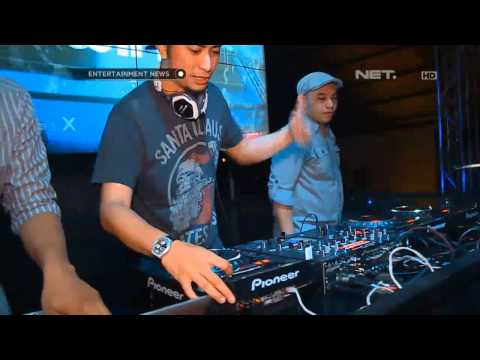 DJ Winky perform dengan lagu terbaru