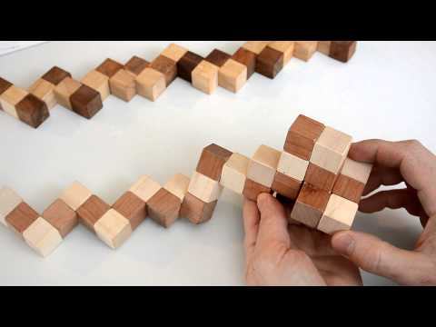 How to solve the snake cube puzzle streaming vf
