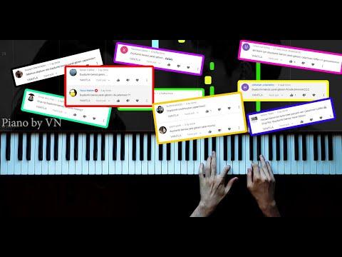 @Grup Roj - Duydum ki Bensiz Yaralı Gibisin - Piano by VN