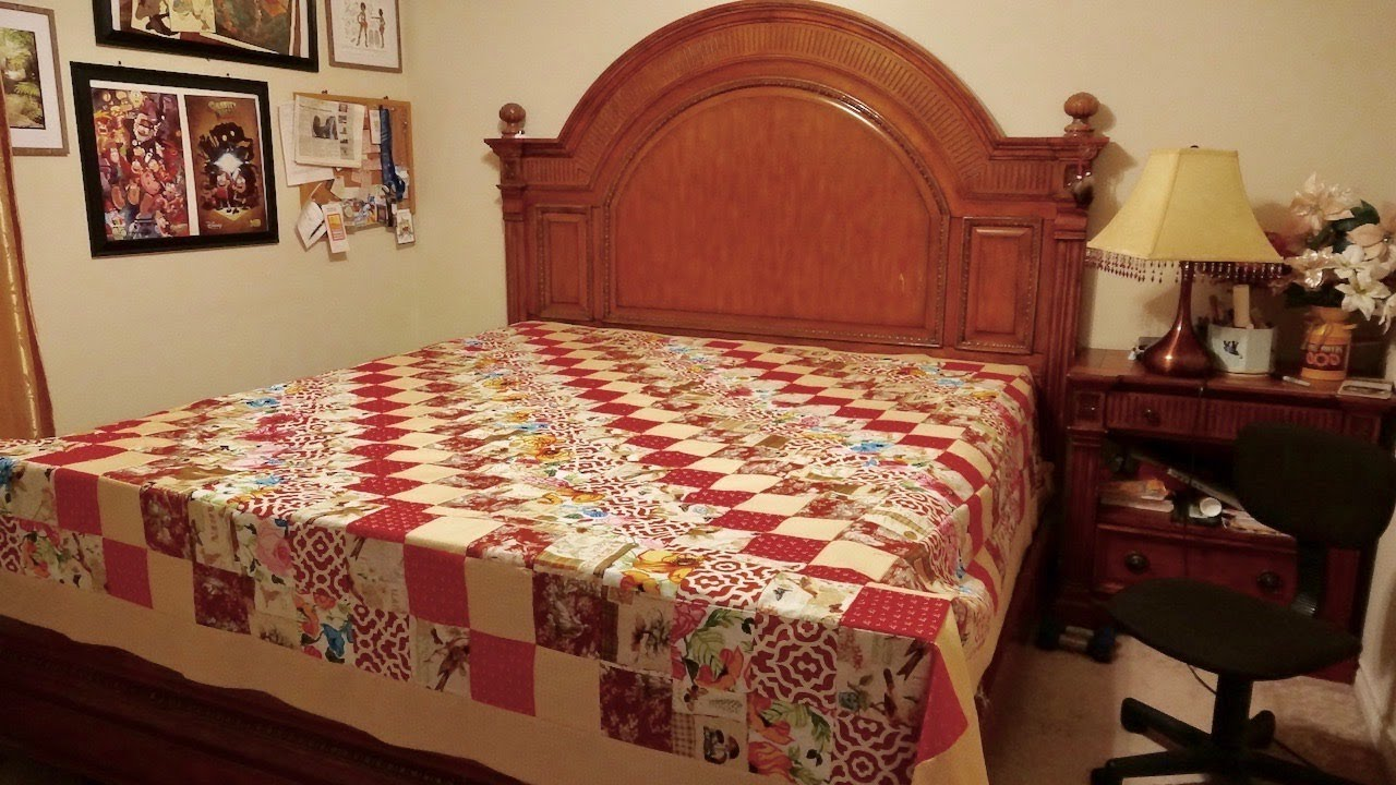 How To Make King Size Quilt Youtube
