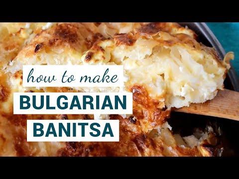 How to make BULGARIAN BANITSA