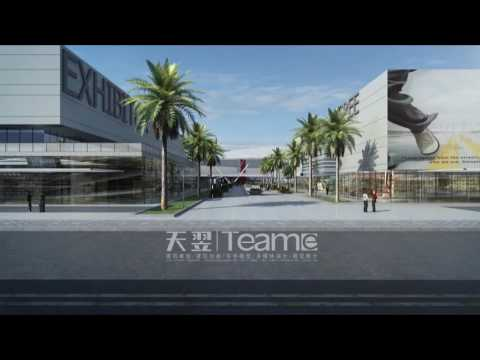Team E Animation reference - a convention center