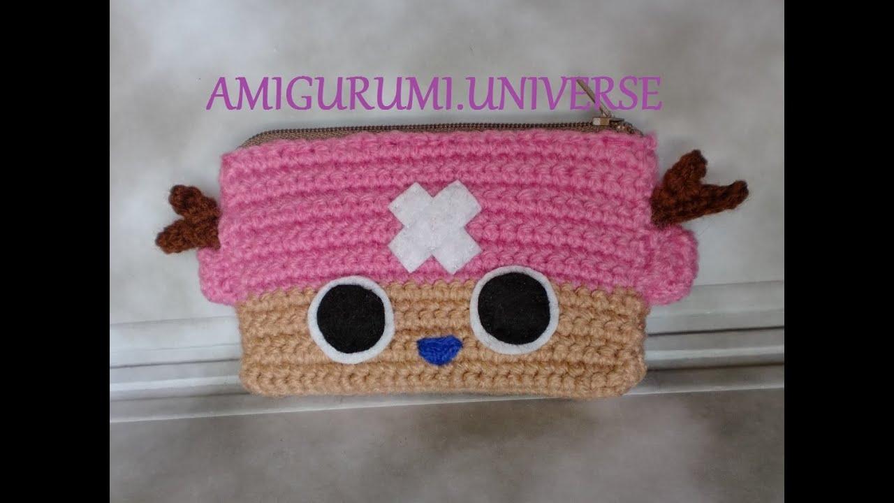 Amigurumi Universe : Tutorial paso a paso monedero de Chopper, por Amigurumi ...