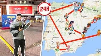 Schaffe ich es in 24 Stunden alle La Liga Stadien zu besuchen?