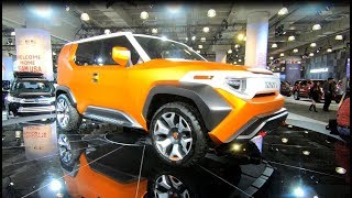 TOYOTA FT-4X CONCEPT SUV SHOW CAR FT4X FUTURE OFFROAD STYLE WALKAROUND