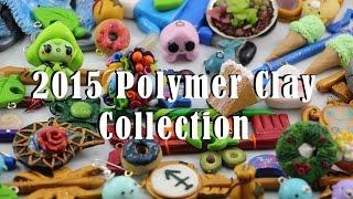 HUGE Polymer Clay Collection   Kawaii Charms, Celestial Keys and More!   #6