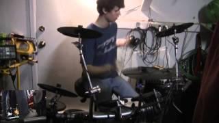 Walk the Edge by Shadows Fall Drum Cover