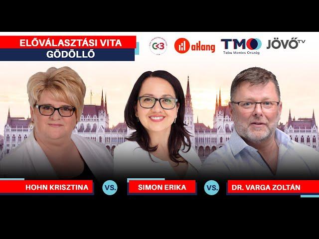 Előválasztási vita | Gödöllő, Pest 6. | Jövő TV