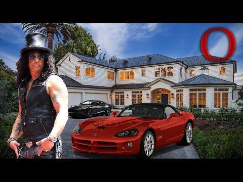 O Estilo De Vida De Slash - Guns N' Roses