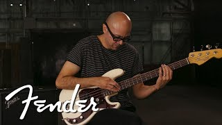 Blas Perez Demos The Rumble Studio 40 | Rumble Bass Amps | Fender