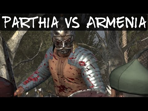 Total War Rome 2 Online Battle 148 Parthia Vs Armenia