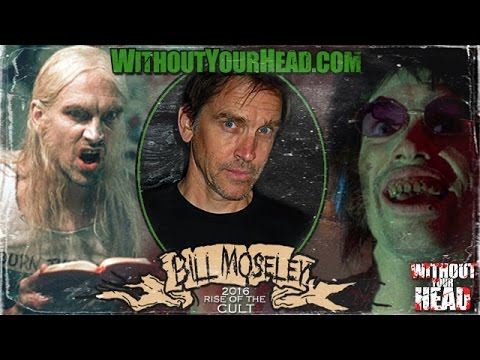 "Bill Moseley interview on ""Choptop"" in ""Texas Chainsaw Massacre 2"" and his career"
