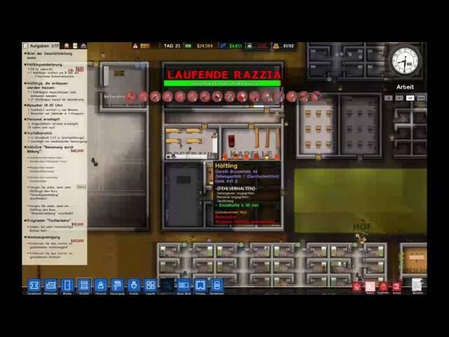 Let's Play Prison Architect | Jetzt gehts Rund ! | Folge #017