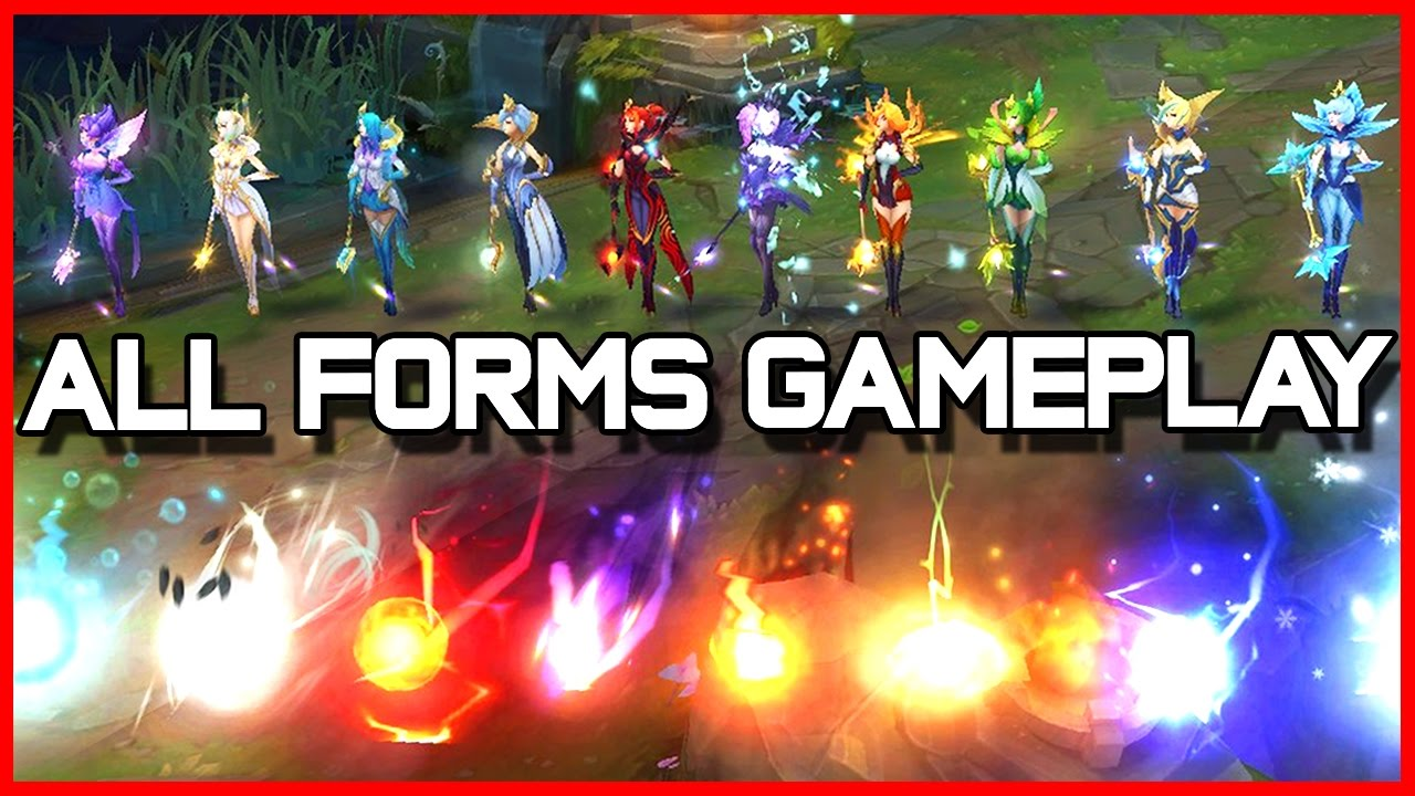 ELEMENTALIST LUX!! (ALL 10 FORMS) | League of Legends - YouTube