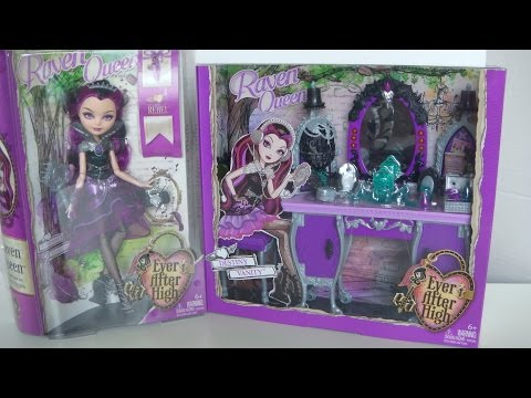Raven Queens Destiny Vanity - Ever After High