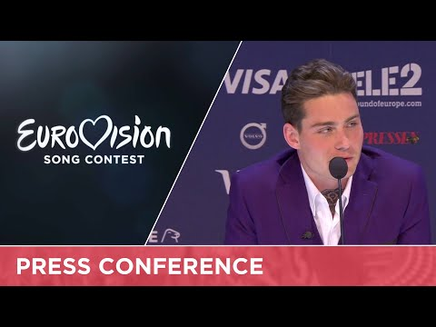 Douwe Bob (The Netherlands) Press Conference