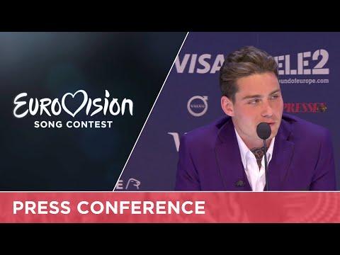 Douwe Bob (The Netherlands) Press Conference
