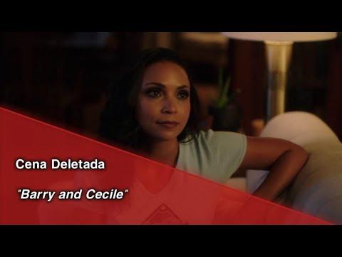 "The Flash • Cena Deletada ""Barry And Cecile"". (Legendado)"