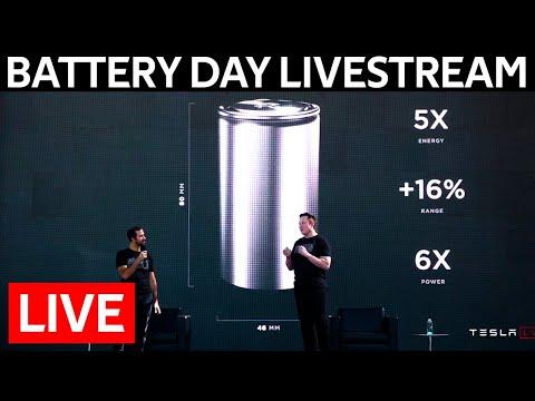 Tesla Battery Day LIVE