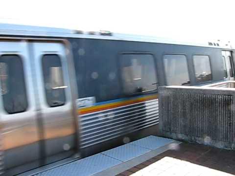 MARTA Train at Brookhaven Station