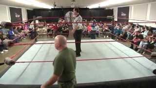 Pure Pro Wrestling TV Match - Jimi Love vs. Col. Spud Wade 11-15-2014