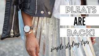 2018's Must-Have Skirt | How To Style