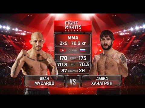 Иван Мусардо vs. Давид Хачатрян / Ivan Musardo vs. David Khachatryan