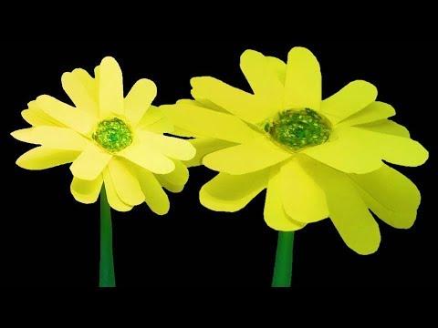 DIY Paper Sunflower
