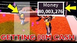 OBTENDO 80M CASH | Jailbreak de Roblox