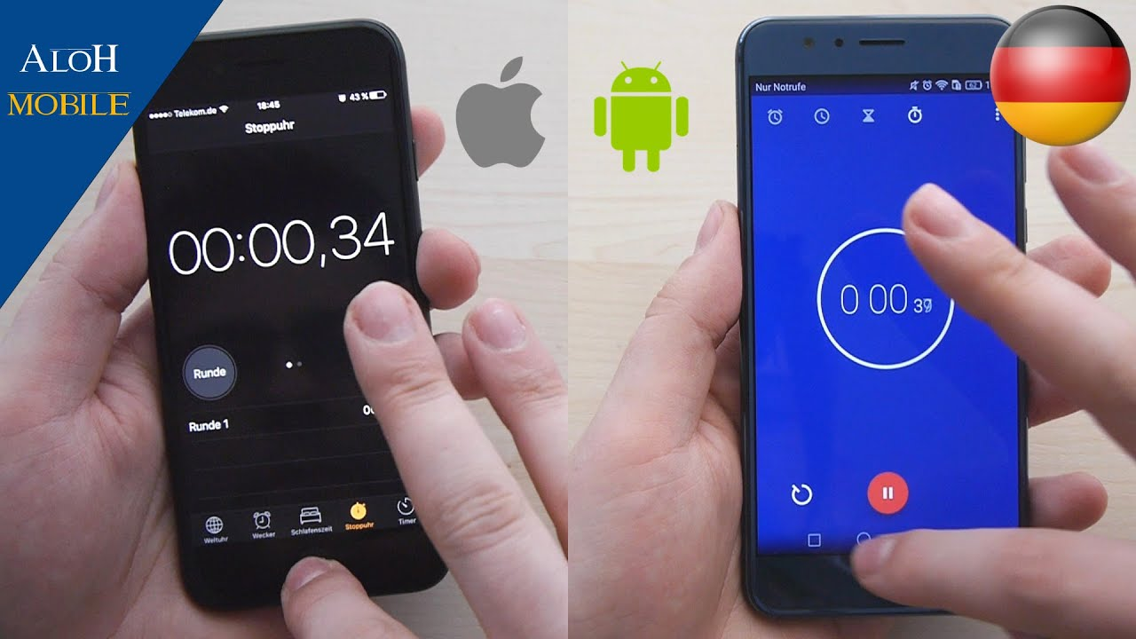 Ios Oder Android Test
