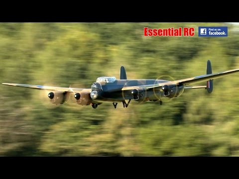 GIANT SCALE RC Avro Lancaster at Festival of Flight | Ragley Hall 2016
